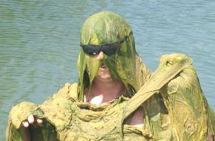 algae monster!